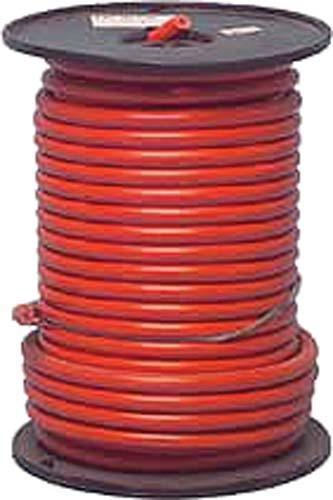 CABLE RED 4GA X 49 STRAND 100' SPOOL