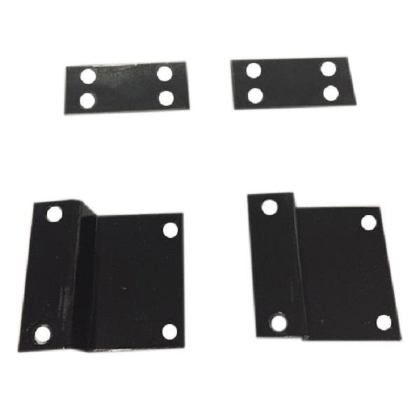 Extended Top Black Corner Connector (Single)