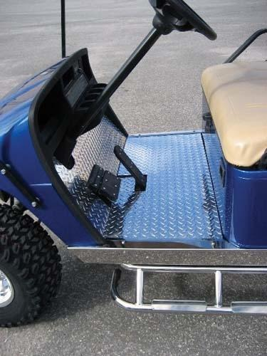 Floor mat, Diamond plate, Club Car Precedent
