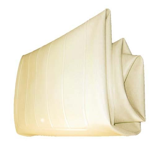 SEAT BOTTOM COVER BUFF CLUB CAR 79-99