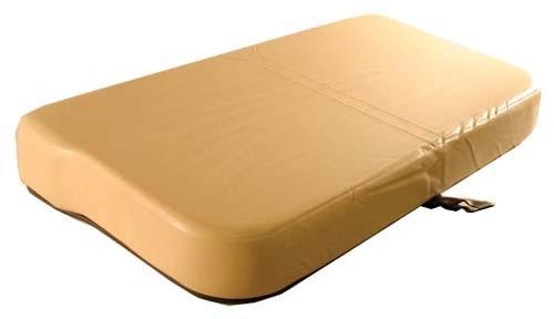 E-Z-GO Marathon Tan Seat Bottom Cushion, Gas (Years 1973-94)