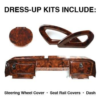 DRESS-UP KIT, EZGO RXV, BURL