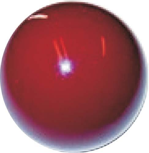 "SHIFTER KNOB (BURGUNDY) 3/8-24. 1/2"" thread"
