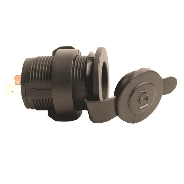12 Volt Weather Proof Power Port with Quick Nut