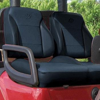 Club Car DS Premium Black Replacement Seats (Fits 2000-Up)