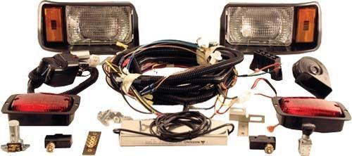 LIGHT KIT DELUXE BLACK CC 48V