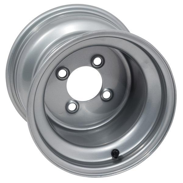 10x8 Silver Steel Wheel (3:5 Offset)