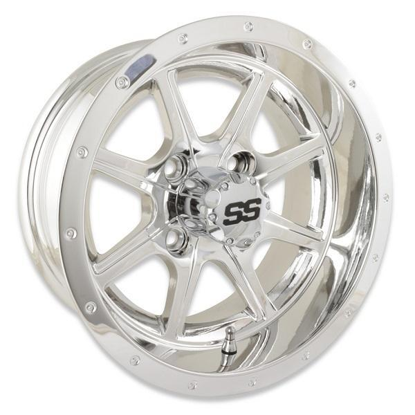 12X6 Tremor Mirrored Wheel W/SS Cap (2.5+3.5 Offset)
