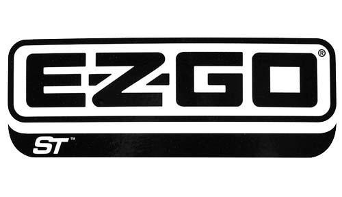 Decal side logo EZ G ST480