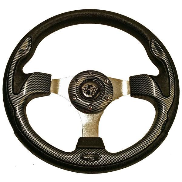 Carbon Fiber Rally Steering Wheel