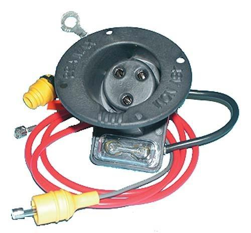 48 VOLT RECEPTACLE & FUSE KIT