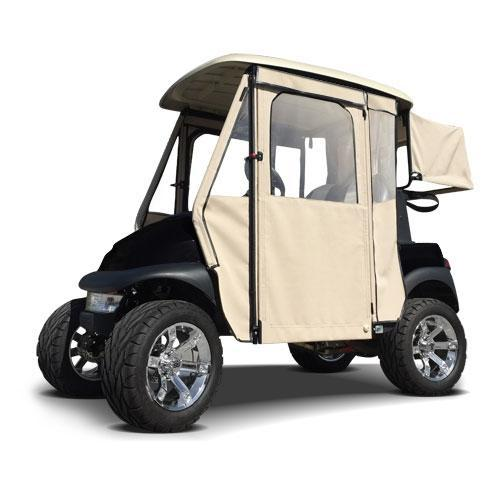 Door Max Sunbrella Enclosure for Club Car Precedent - Linen