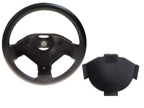 STEERING WHEEL/CARDHOLDER ASSY