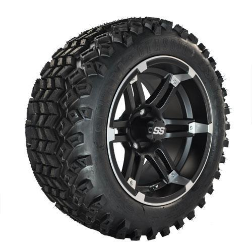 Set of (4) 14 inch Barracuda Wheels on All-Terrain Tires