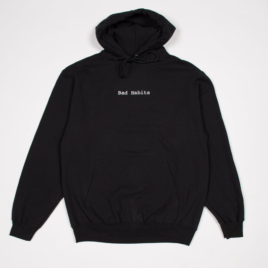 BAD HABITS HOODIE (BLACK)