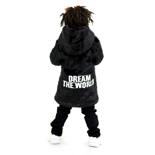 """Dream The World"" Fur Coat"