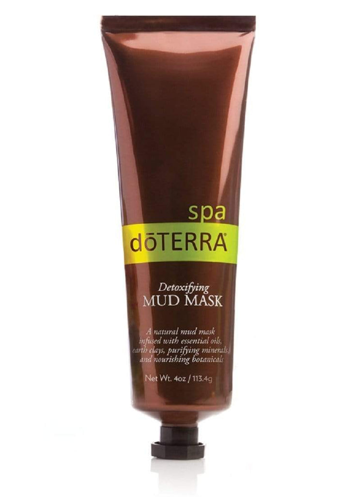 doterra detox spa mud mask máscara