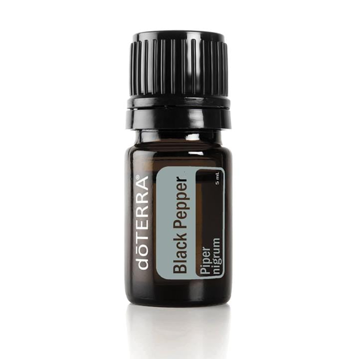 black pepper doterra óleo essencial