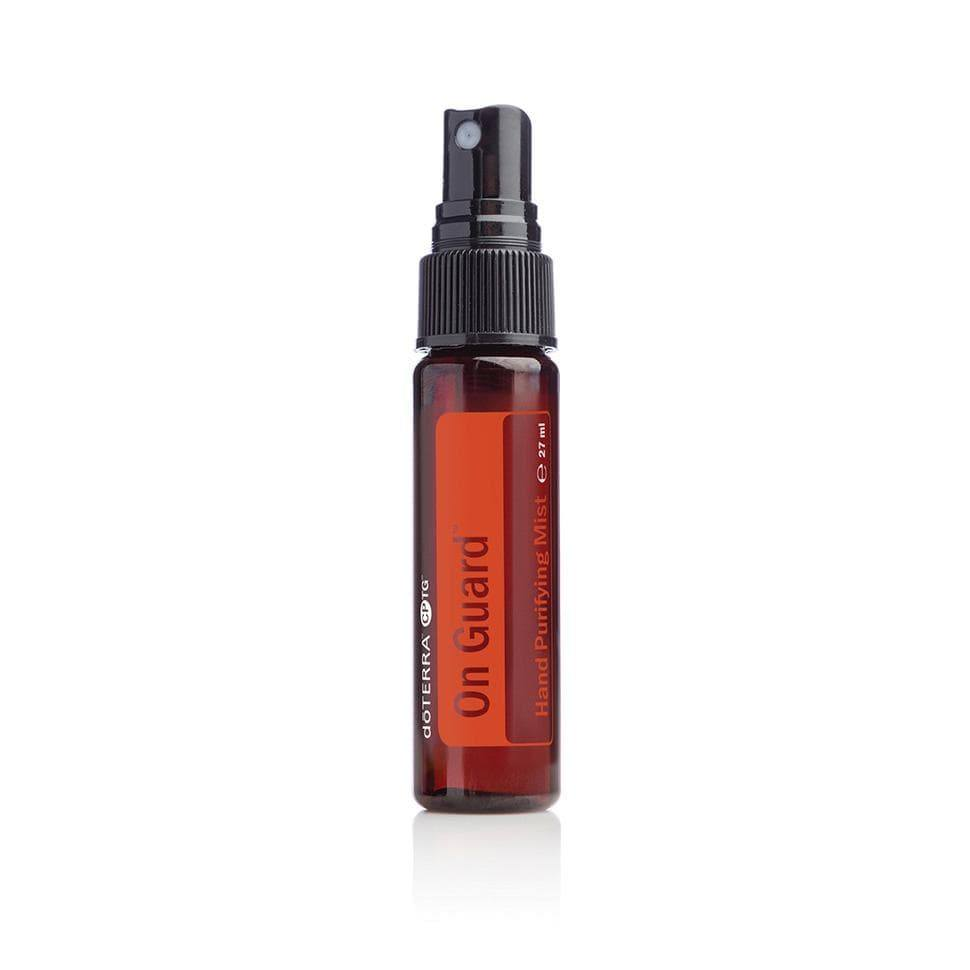 hand sanitiser on guard doterra