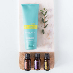 spa doterra hand body lotion