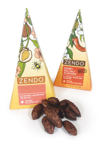 Zendo Infused Almonds