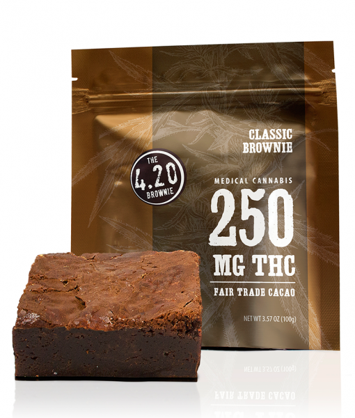 The 4:20 Classic Brownies