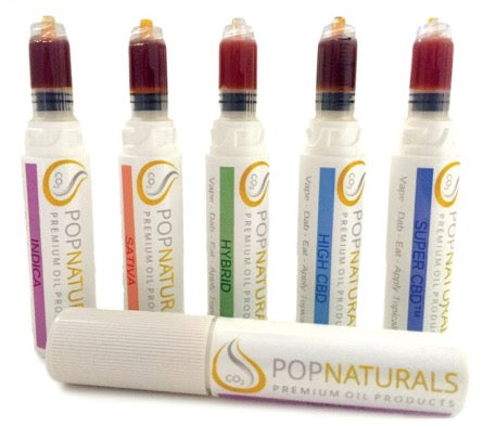 Pop Naturals .75ml High SUPER CBD Stick