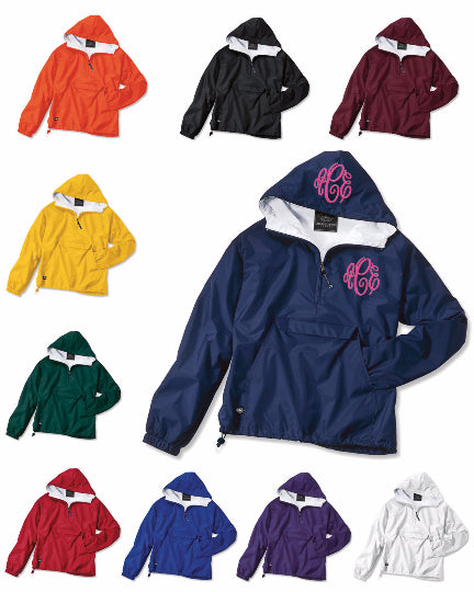 Kid's 1/2 Zip Pullover by Charles River Apparel