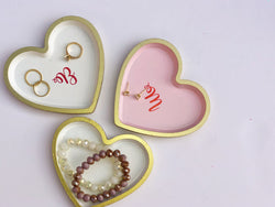 Heart Shaped Jewelry Tray