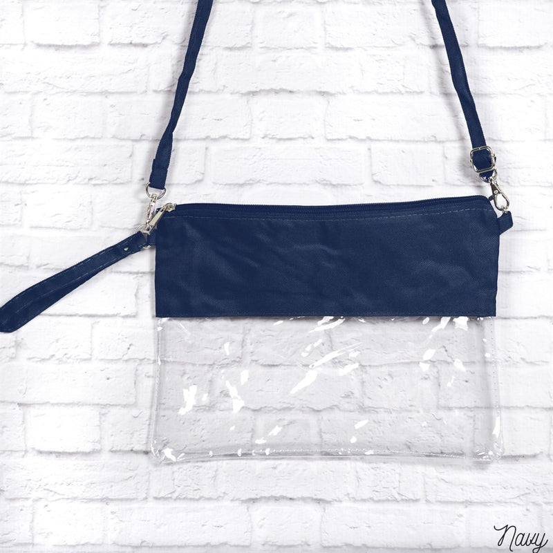 Monogrammed Clear Stadium Bags