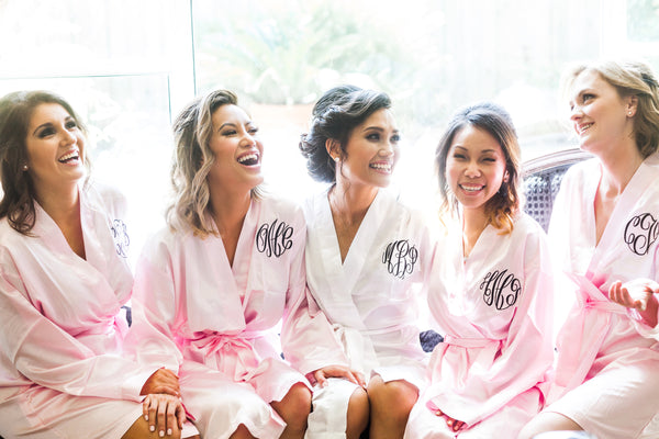 Monogram Bridesmaid Robes