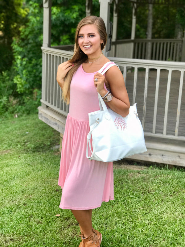 Monogrammed Baby Doll