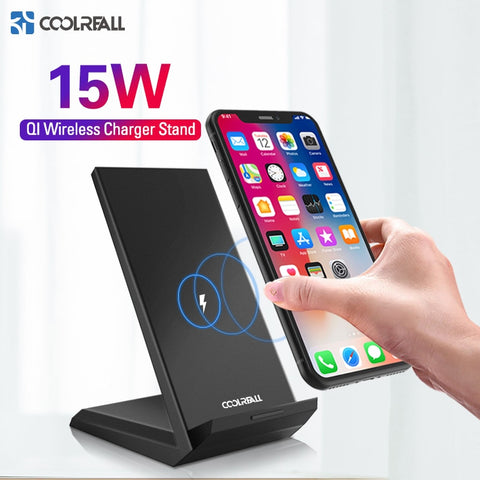 Coolreall Qi Draadloze Oplader Voor iPhone | Samsung | OnePlus