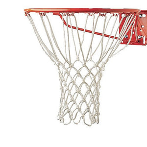 Hot Sale Champion Sports 5mm Deluxe Non Whip Replacement Basketball Net Durable Rugged Nylon Hoop Goal Rim Mesh Net Sport