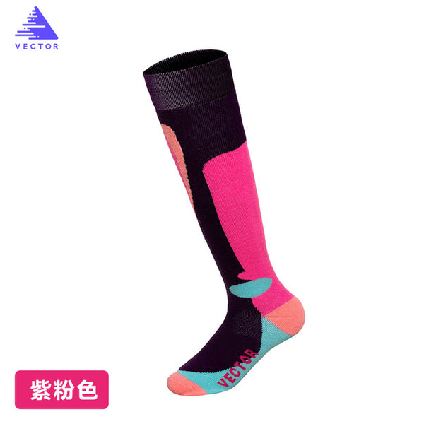 VECTOR Winter Warm Ski Socks Men Women Thick Merino Wool Socks Thermal Winter Sports Snowboard Soccer Cycling Skiing Socks