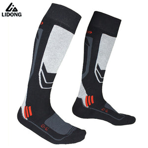 Winter thicken Warm Men Thermal Ski Socks Thick Cotton Sports Snowboard Cycling Skiing Soccer Socks Thermosocks Leg Warmers sox