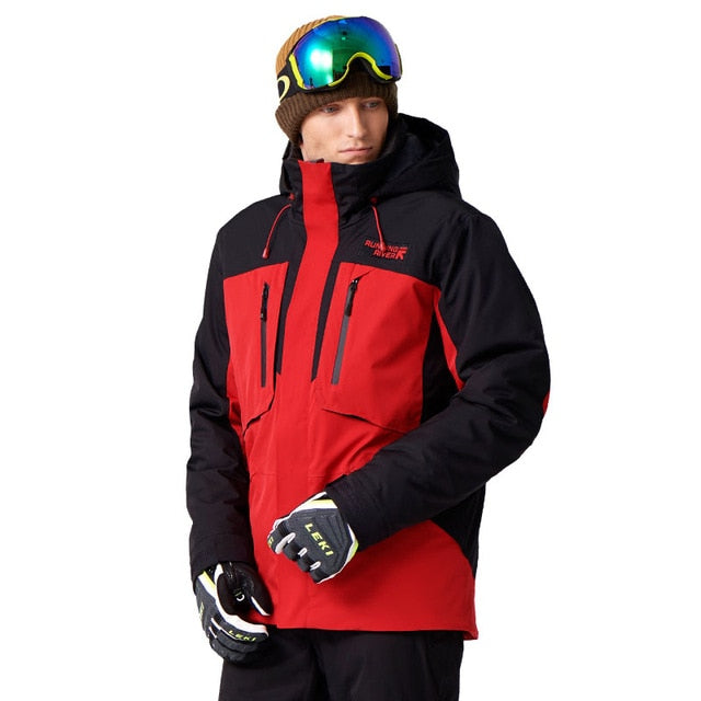 RUNNING RIVER Brand Men Ski Jacket 5 Colors 6 Sizes Winter Warm Outdoor Sports Jackets High Quality Sports Cloth For Man #A7035