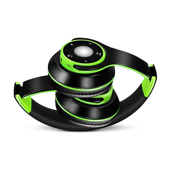 Stereo Audio Bluetooth Headset met SD card en Microfoon