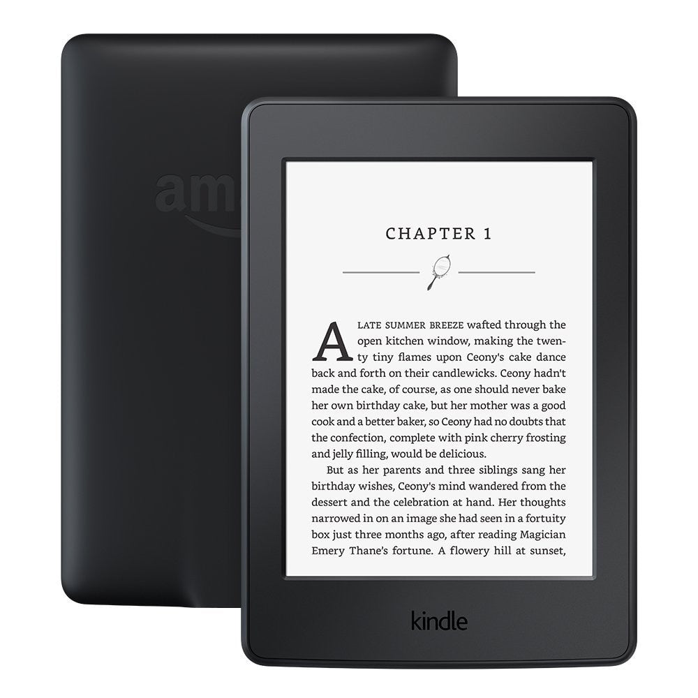 "Kindle Paperwhite Black 32GB eBook e-ink Screen WIFI 6""LIGHT Wireless Reader With built-in backlight e-Book Reader"