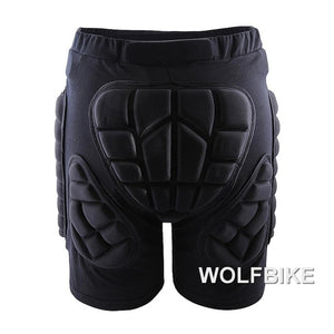 WOSAWE Winter Sports Skiing Shorts Protective Hip Butt Bottom Padded Amour for Ski Snow Skate Snowboard Pants Protection
