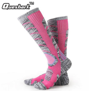Winter Warm Men Women Thermal Ski Socks Thick Cotton Sports Snowboard Cycling Skiing Soccer Socks Leg Warmers Long Socks