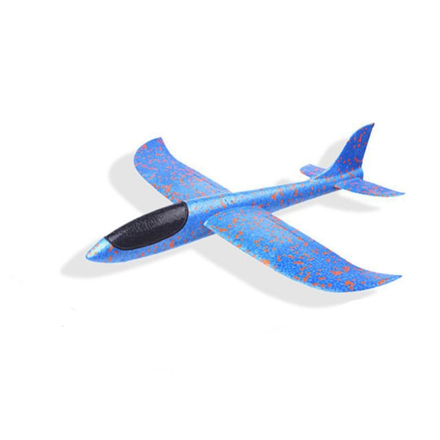 2018 DIY Kids Toys Hand Throw Flying Glider Planes Foam Aeroplane Model Party Bag Fillers Flying Glider Plane Toys For Kids Game