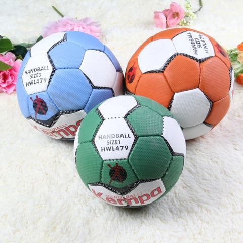 Size 1 2 3 HandBall ball Hand Sewn leather Match Training Official Professional beach Sports Balls volleyball kids Child adult