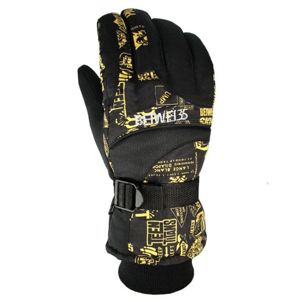 Top Quality Warm Ski Gloves Breathable Winter Snowboard Gloves Men Women Outdoor Sports Skiing Motorcycle Gloves