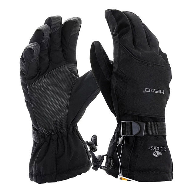 Outdoor Sports Ski Gloves Men Windproof Waterproof Snowboard Gloves Winter Skiing Gloves Women Size M/L