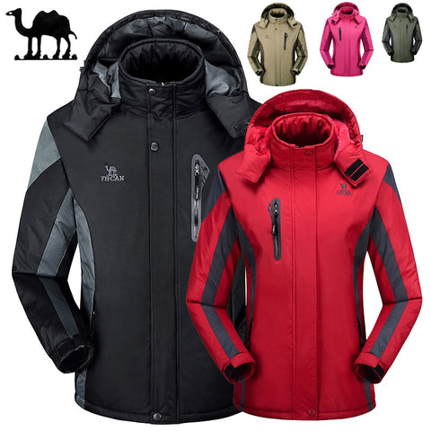 Ski Jackets Men and Women Thermal Warmth Waterproof Climbing Hiking Jacket Winter Sports Snowboard Skiing Snow Coat Big size