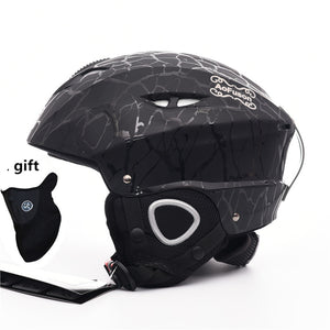 2018 Brand Ski helmet Integrally-molded professional adult Snowboard helmet Men Women Skating/Skateboard Winter sports helmets