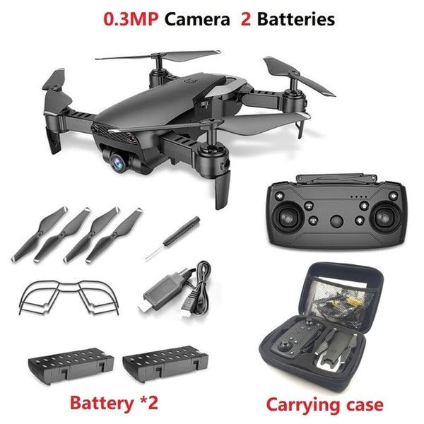 Teeggi M69 FPV Drone with 720P Wide-angle WiFi Camera HD Foldable RC Mini Quadcopter Helicopter VS VISUO XS809HW E58 X12 Dron