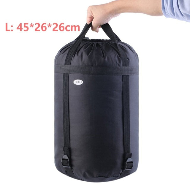 2018 Waterproof Clothes Packaging Compressed Saving Storage Bags Outdoor Camping Lightweight Nylon Traveling Hot Dropshipping