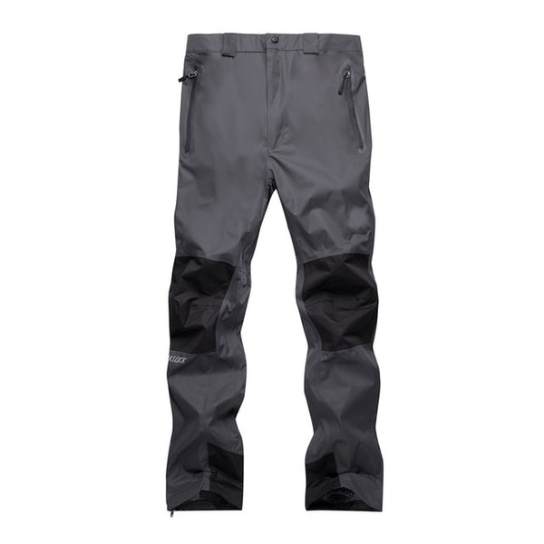 Two-layer fleece Men Snow pant Autumu and Winter Outdoor sports wear Hiking Trousers windproof waterproof Snowboarding Ski pant